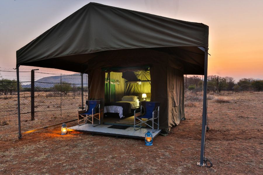 Tented Adventures. Accommodation in Pilanesberg and Kruger National Park