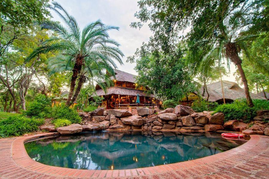 Lokuthula Lodge Accommodation in Victoria Falls Zimbabwe