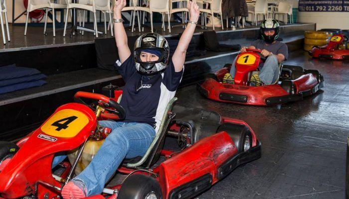 Randburg Raceway Go-Karting Johannesburg Gauteng