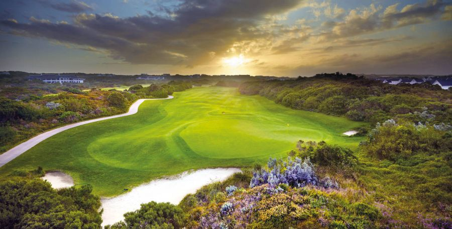 St Francis Links Golf Course in St Francis Bay Eastern Cape