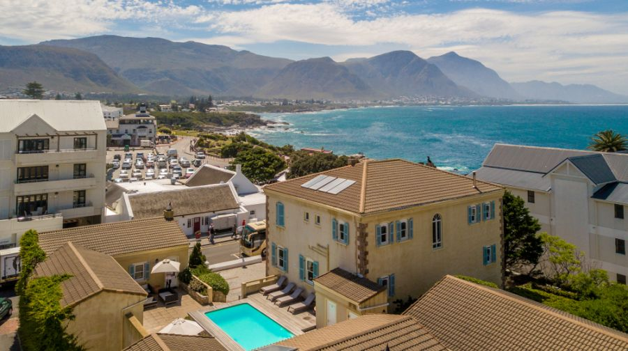 Auberge Burgundy Guesthouse. Accommodation in Hermanus Western Cape