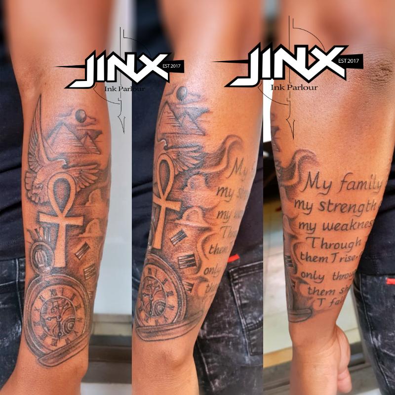 Jinx Ink Tattoo Parlour in Atteridgeville Pretoria Gauteng
