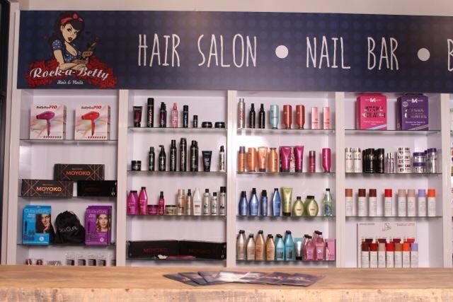 Rock-A-Betty. Hair Salon, Nail Bar & Beauty Parlour in Silver Lakes Pretoria Gauteng