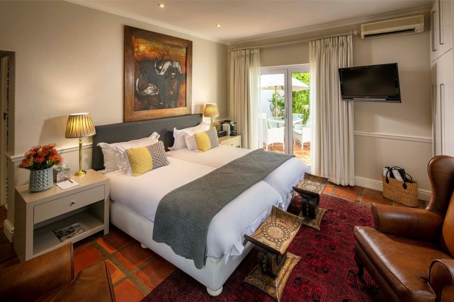 Spanish Farm Guest Lodge. Accommodation in Somerset West Western Cape